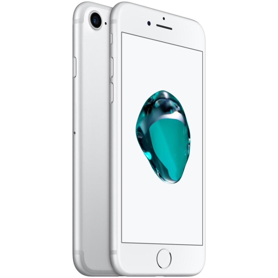 Smarphone iPhone 7 da Apple de 32GB, 4,7 polegadas com câmera de 13 megapixels e frontal de 7 megapixels. Modelo Silver.